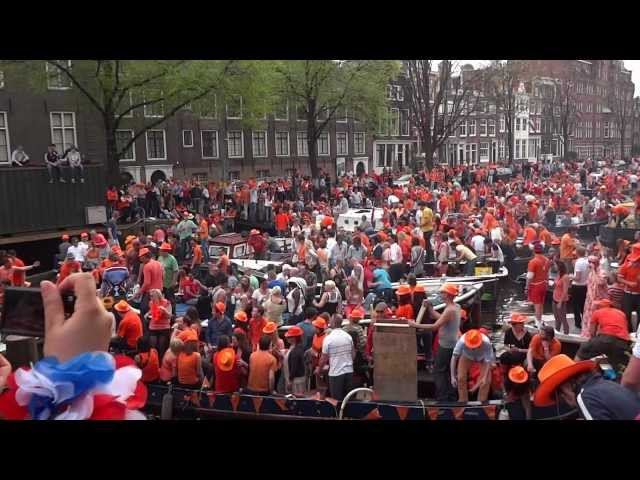 Amsterdam: King's Day 2019, All Day Citywide Street Party