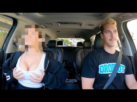 Uber Driver Raps For Passengers!!