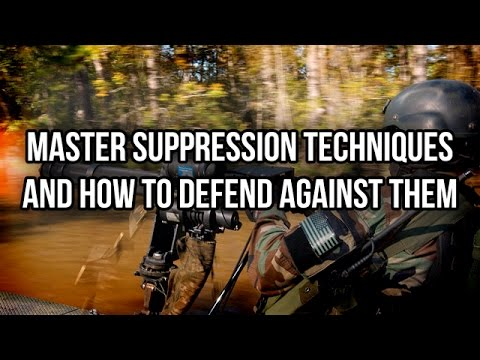 Master Suppression Techniques and How to Counter Them
