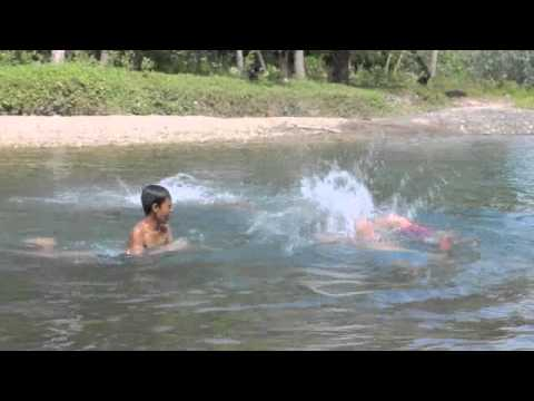 Cahilig Family at Nabaoy River Malay, Aklan, Philippines Part 2