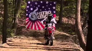Biggest Trick In Action Sports History   Triple Backflip   Nitro Circus   Josh Sheehan 2
