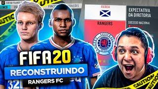RECONSTRUINDO RANGERS FC!! FIFA 20 Modo Carreira 😍💥