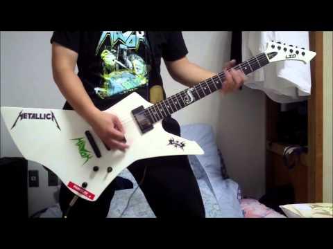 X JAPAN - Silent Jealousy - guitar cover