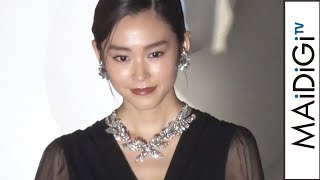 女優の桐谷美玲さんが11月7日、表参道ヒルズ(東京都渋谷区)のクリスマスイルミネーション点灯式に出席した。