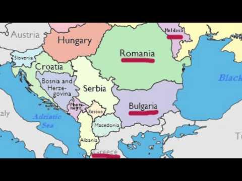 Europe #3 (Eastern Europe) - EKJB