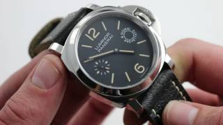 panerai luminor marina 8 days acciaio pam 590 watch review