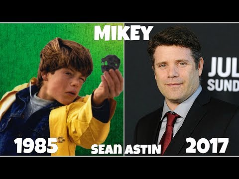 The Goonies Then and Now
