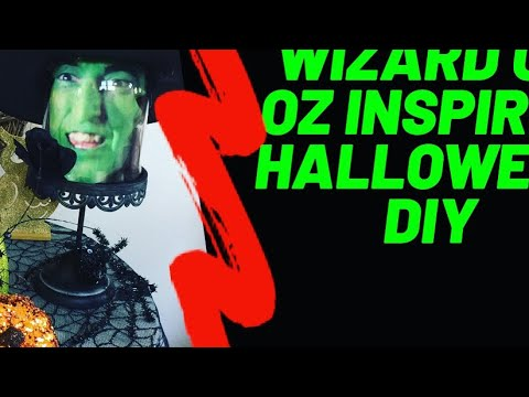 Wizard Of Oz Inspired Halloween DIY