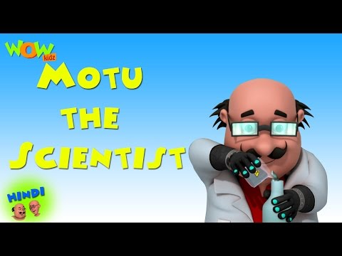 Motu the Scientist - Motu Patlu in Hindi WITH ENGLISH, SPANISH & FRENCH SUBTITLES thumbnail