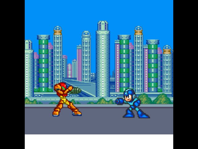 Mega Man VS Samus