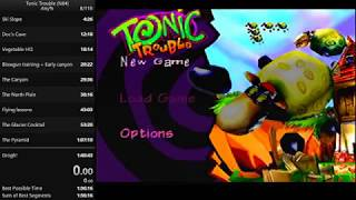 Tonic Trouble (N64) Any% in 1:36:43 by Osukarui