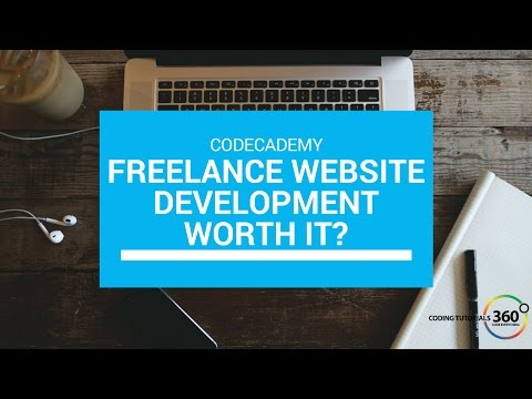 Is CodeCademy's Ready Freelance Website Development Course Worth it?
