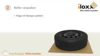Verpackungstipps | Reifen sicher verpacken