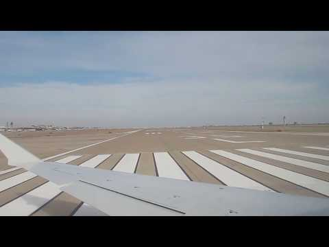 American Airlines/Mesa Air  CRJ-900 takeoff at Dallas Fort Worth International Airport to Houston