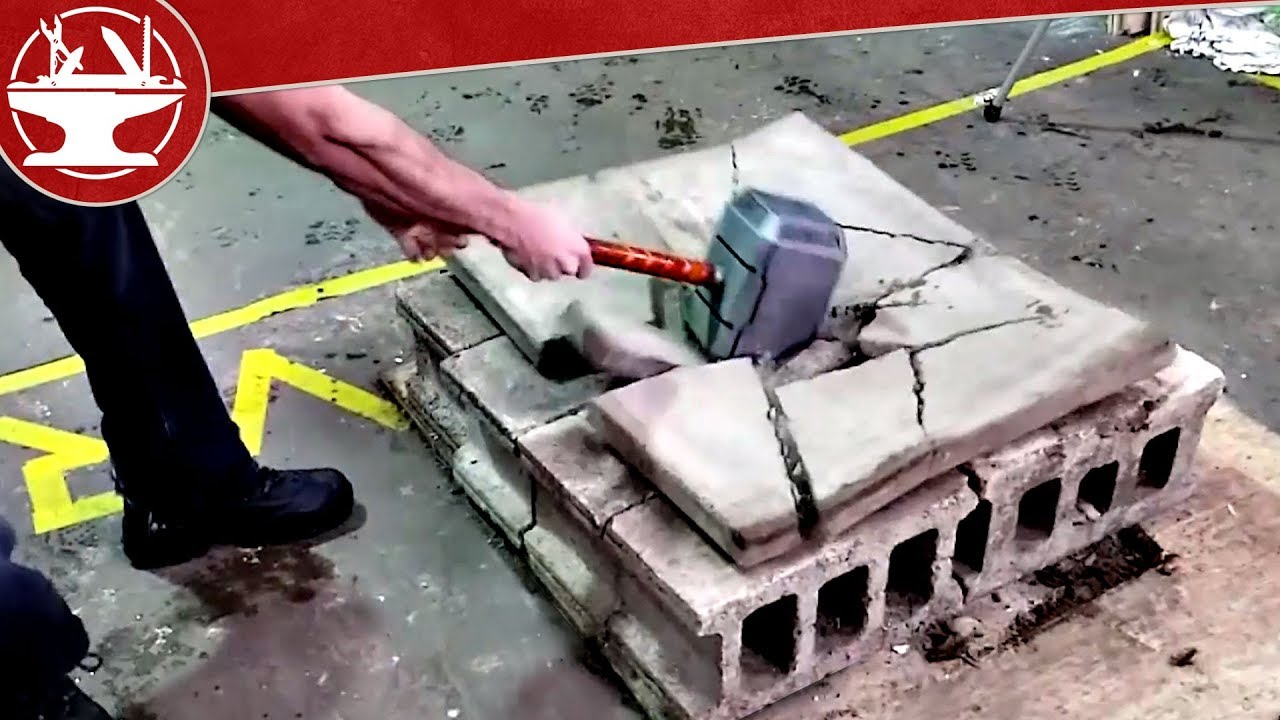 Thor's LEAD-FILLED Hammer DESTROYS ALL