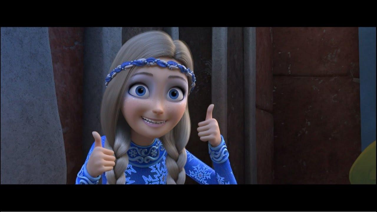 SNIEGO KARALIENĖ 3 (2016) animacinio filmo anonsas