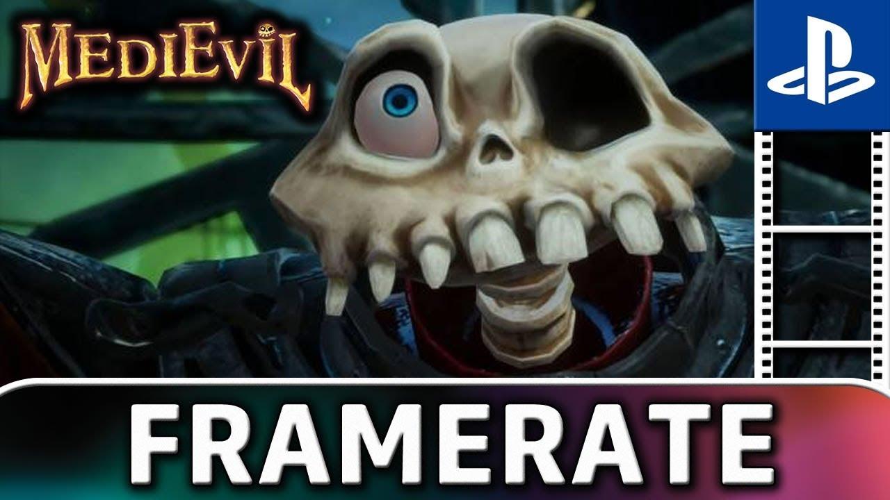 MediEvil   Frame Rate TEST on PS4