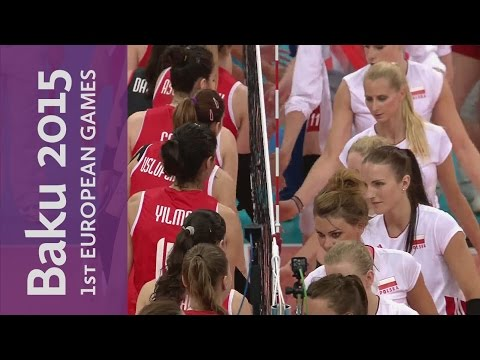 Women's Gold Medal Match Full Replay | Volleyball | Baku 2015 European Games