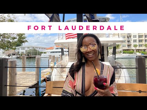Vlog: Brunch with me & Yachts | Fort Lauderdale | Boatyard (April 2021)