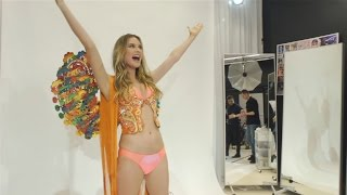 Watch Behati Prinsloo Find Out She