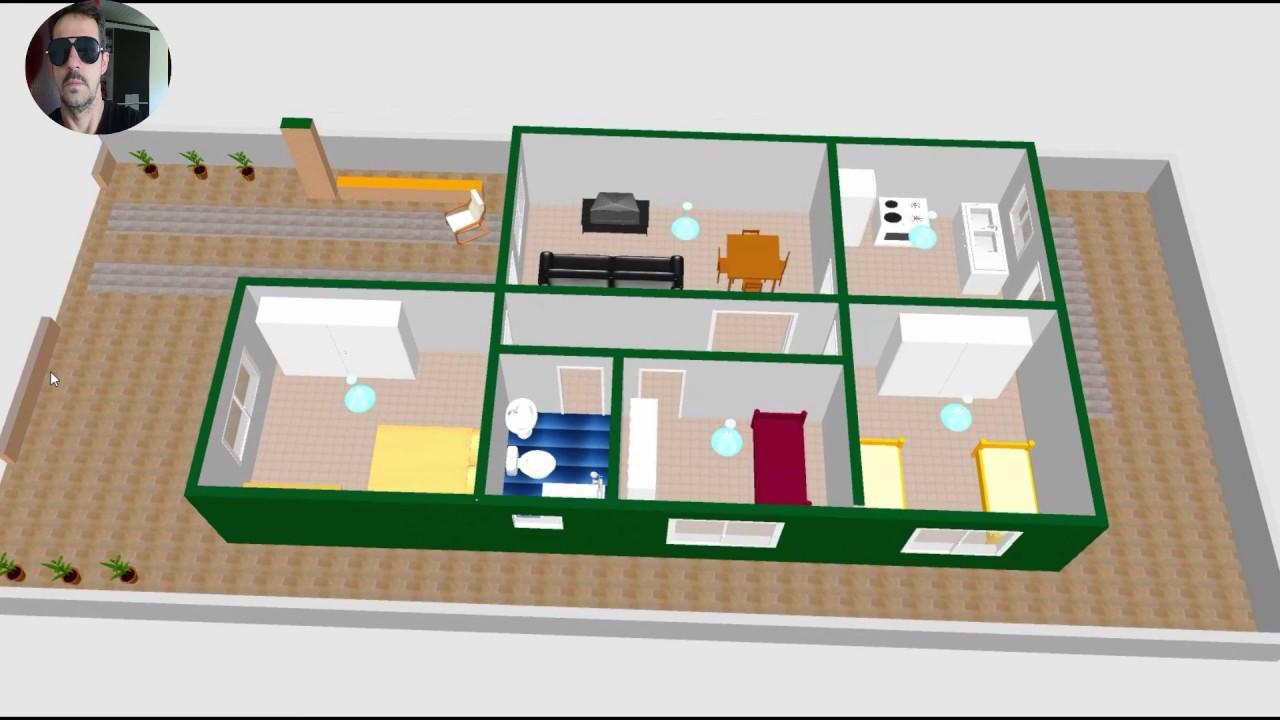 Plantas Casas 3 Quartos De