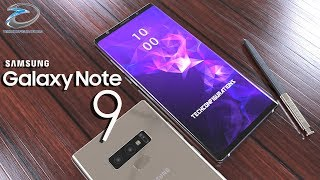 Samsung Galaxy Note 9 Final Design with Specifications,The iPhone Killer is here !!