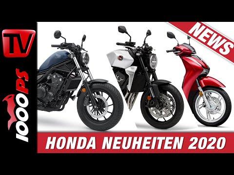 Honda Motorrad und Roller Neuheiten 2020 auf der EICMA 2019