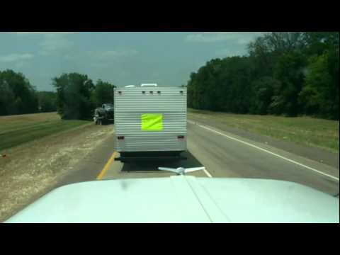 Facebook Replaces the CB Radio - I-49 South of Shreveport - 5/25/12