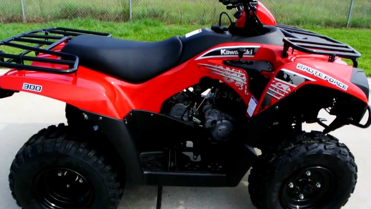hight resolution of 2013 kawasaki brute force 300 red