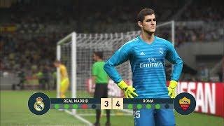 PES 2019 I REAL MADRID vs AS ROMA I UCL Penalty Shootout