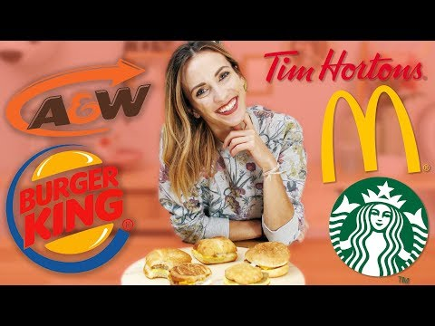 The Ultimate Fast Food Breakfast Sandwich Taste Test