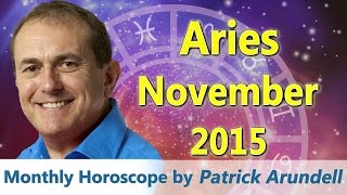 Aries Horoscope November 2015