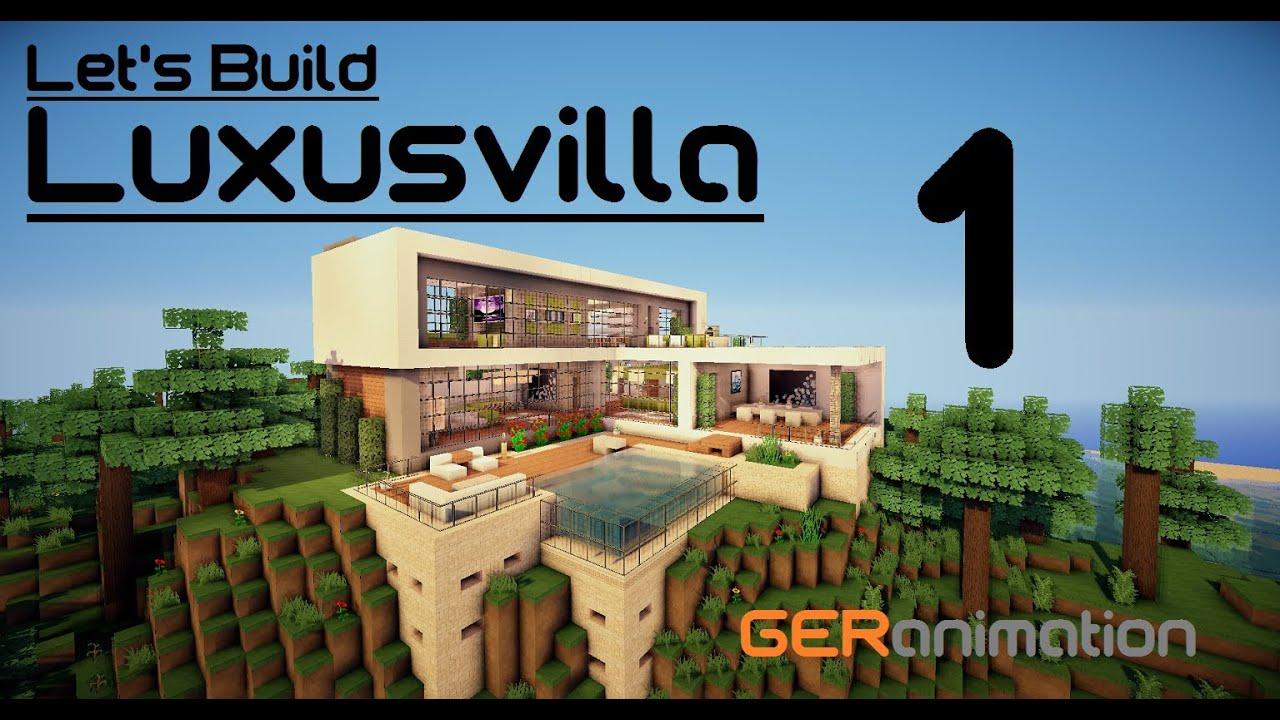 minecraft villa bauen