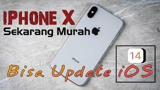 REVIEW IPHONE X 2020 | Harganya Sudah Murah, Bisa Update iOS 14