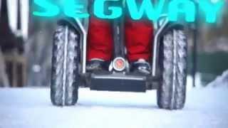 Segway в Буковеле. ч.1(Зимние катание на Segway. Видео от официального дистрибьютора Segway в Украине - www.segway.com.ua., 2014-04-11T14:38:31.000Z)