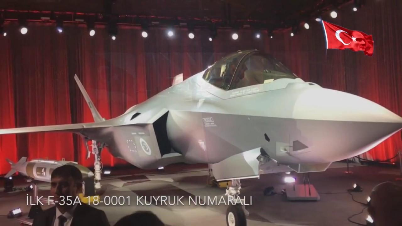 F-35 Savaş Uçağı Türkiye'ye Teslim Edildi