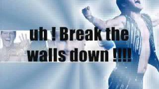Chris Jericho theme song (Adam Morenof - Break the  wall down (Lyrics))