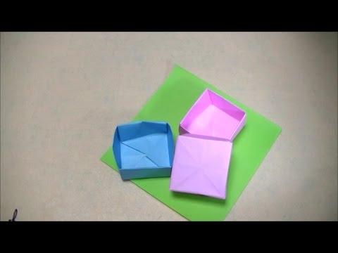 折り 折り紙 折り紙 箱 ふた : popmatx.com