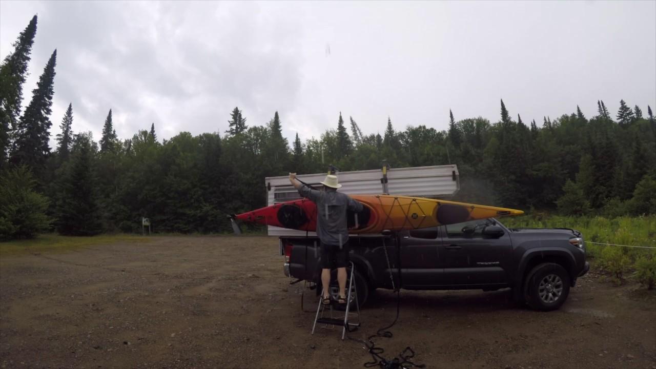 Sortie en kayak dans le Parc du Mont-Tremblant