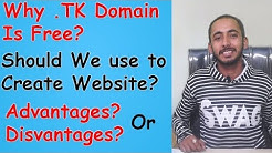 Why .Tk Domain Is Free? l Can we Use in our Website ? l Disadvantages l Hindi