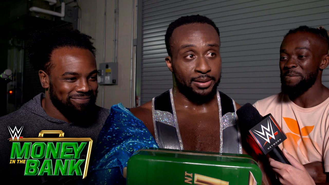 The New Day Reunited To Celebrate Big E Win At Money In the Bank