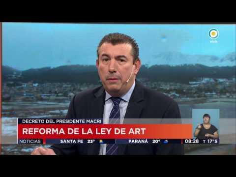 TV Pública Noticias - Cambio en la Ley de ART: Guillermo Arancibia