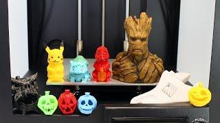 Impresora 3D | Cómo Funciona una Impresora 3D | Objetos Impresos en 3D