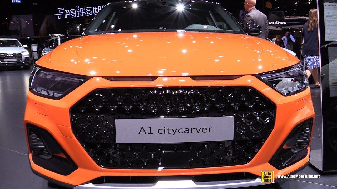 2020 Audi A1 Citycarver - Exterior and Interior Walkaround - 2019 Frankfurt Motor Show