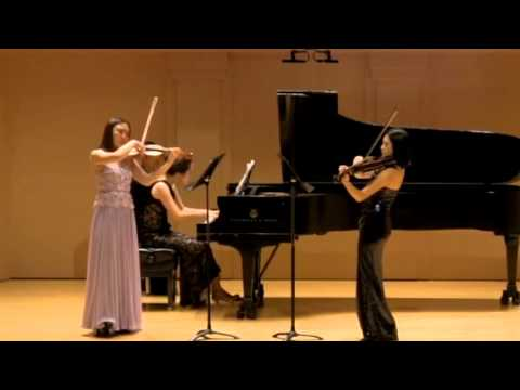 Jongen Trio for piano, violin and viola
