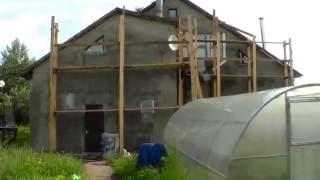 Утепление фасада дома пенопластом. Армирование сеткой. Хорошие специалисты - фасадчики.(, 2016-09-18T08:30:42.000Z)