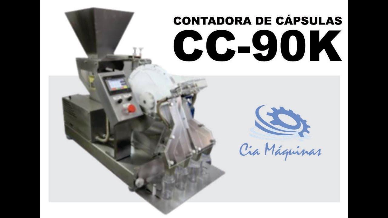 CONTADORA DE CAPSULAS CC 90K CIA MÁQUINAS - YouTube 0250a207e2d