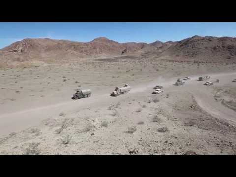 Fury Road: Combat Logistics Element Gains Proficiency In Convoy Ops For Upcoming Deployment