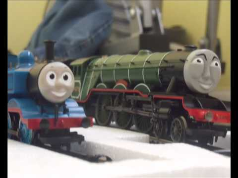 Hornby Flying Scotsman & Thomas Passenger and Goods Train Set
