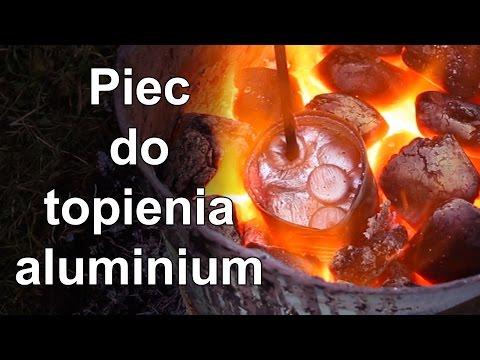 Jak zrobić piec do topienia aluminium? - How to make aluminium melting furnace - JestemInżynierem.pl